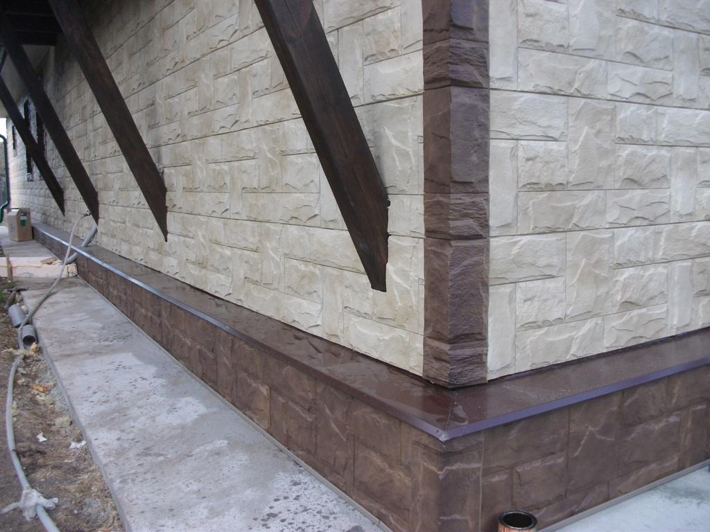 Фасадные панели коллекция Гранит