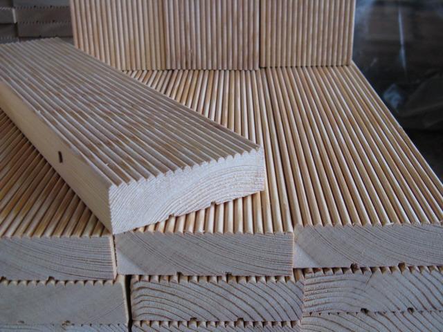 внешний вид декинга из натуральной древесины фото №1