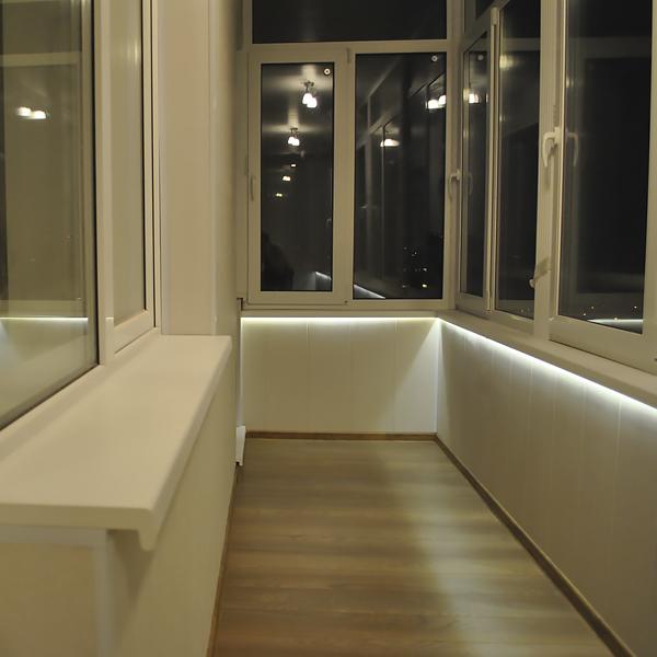 пластиковые панели на балконе фото №3